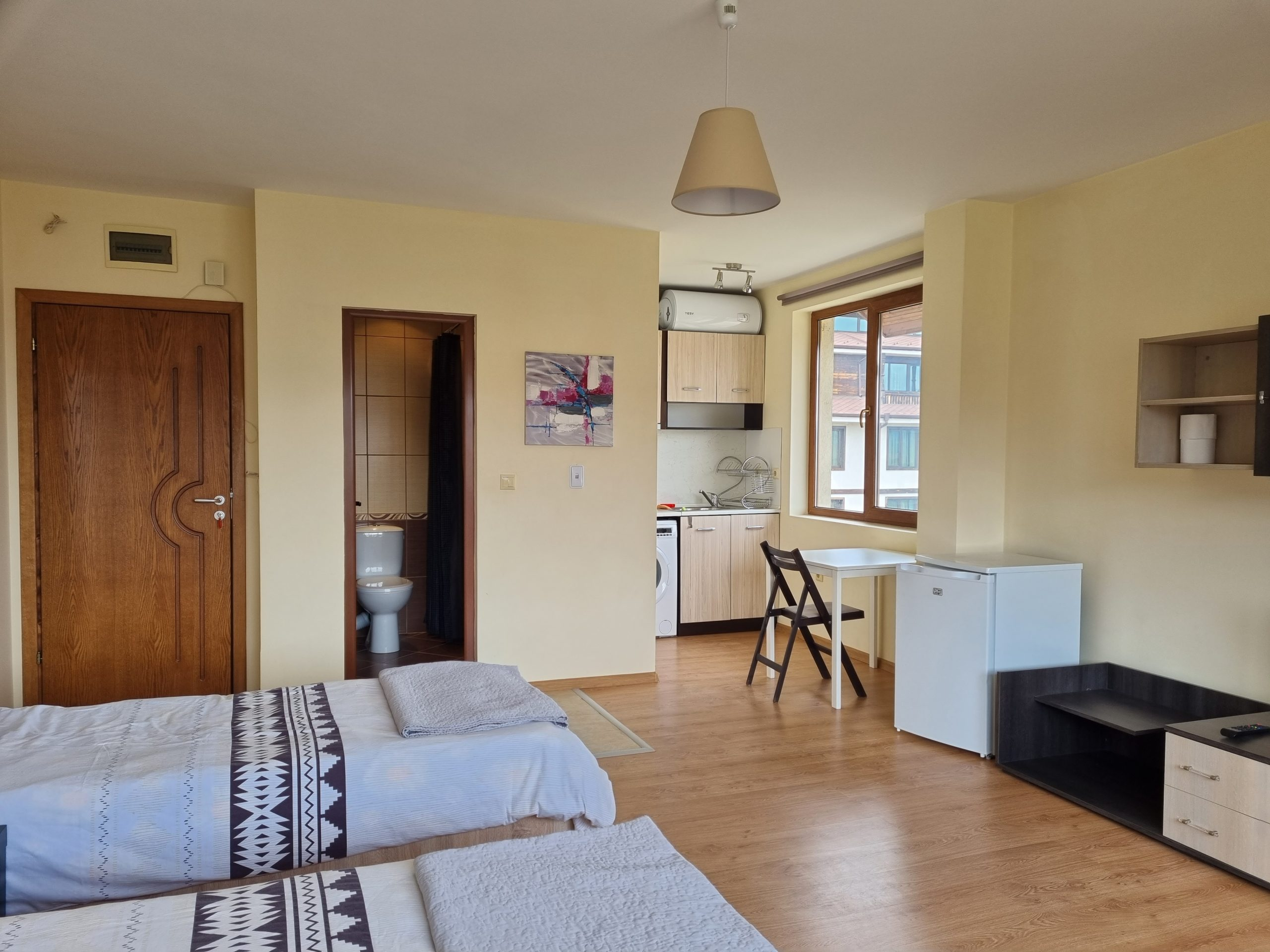 Good size studio for sale in residential building
