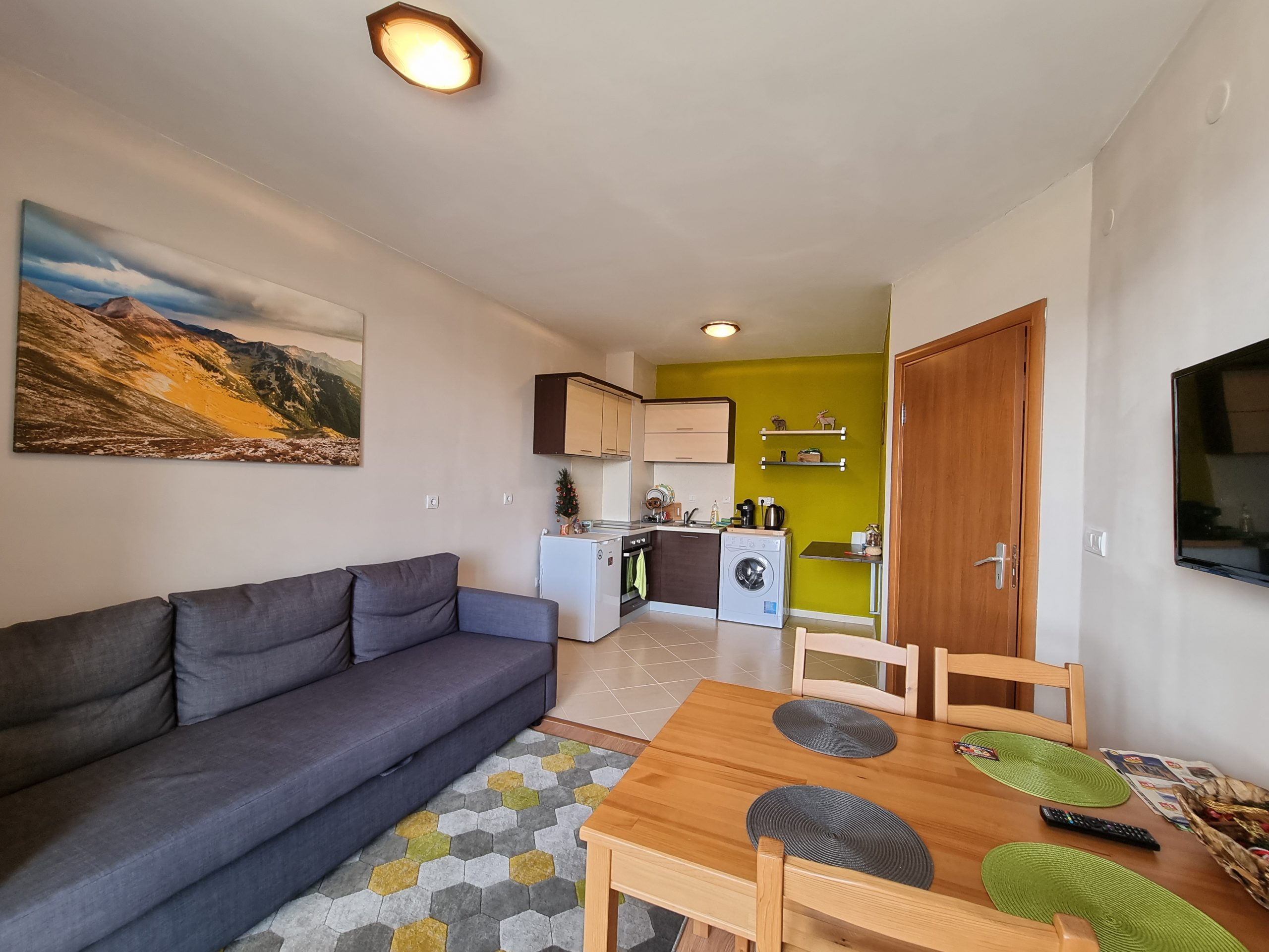 One-bedroom apartment in White Wood Lodge
