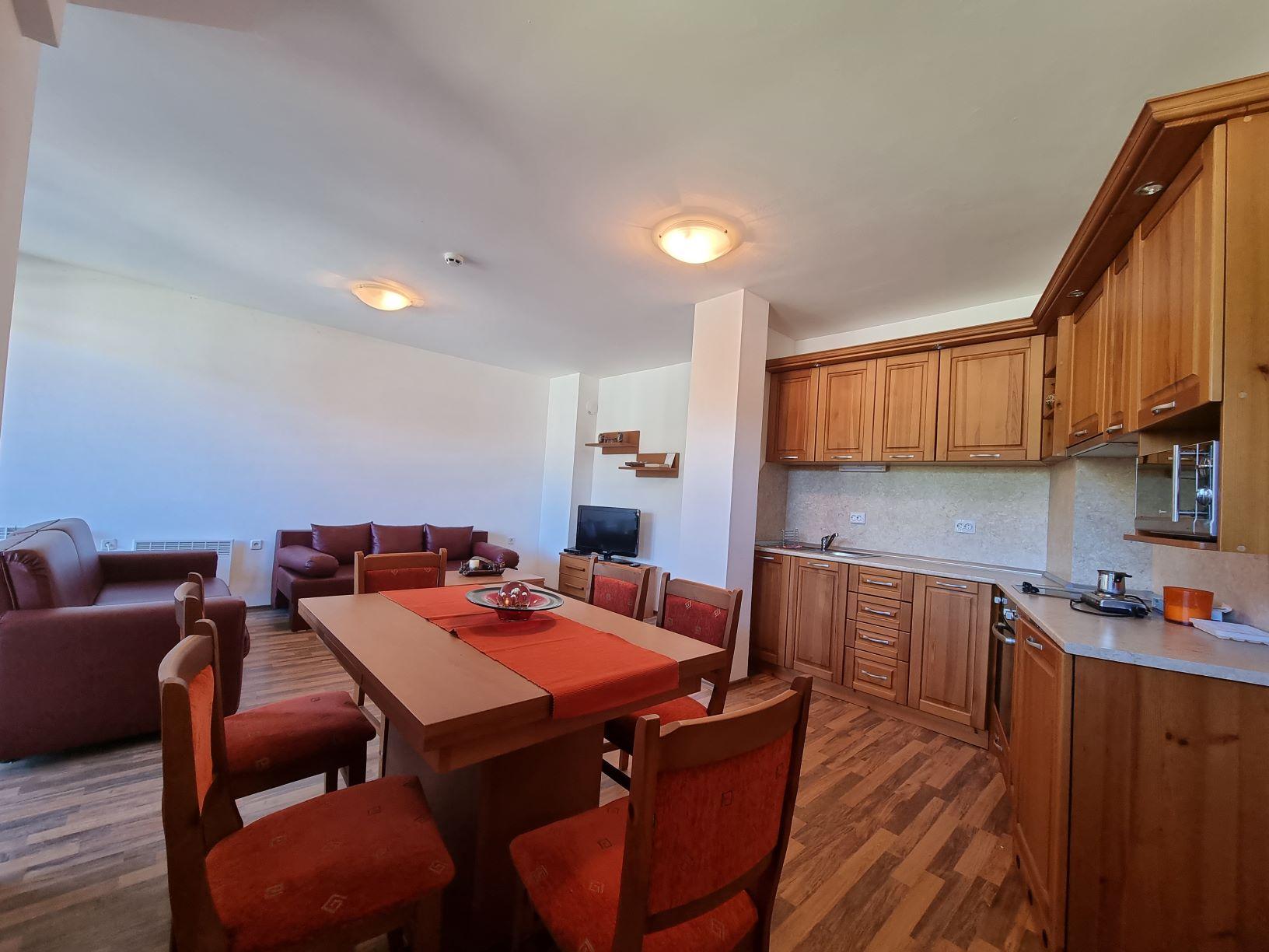 Top floor 2 bedroom apartment for sale in Pirin Heights Bansko